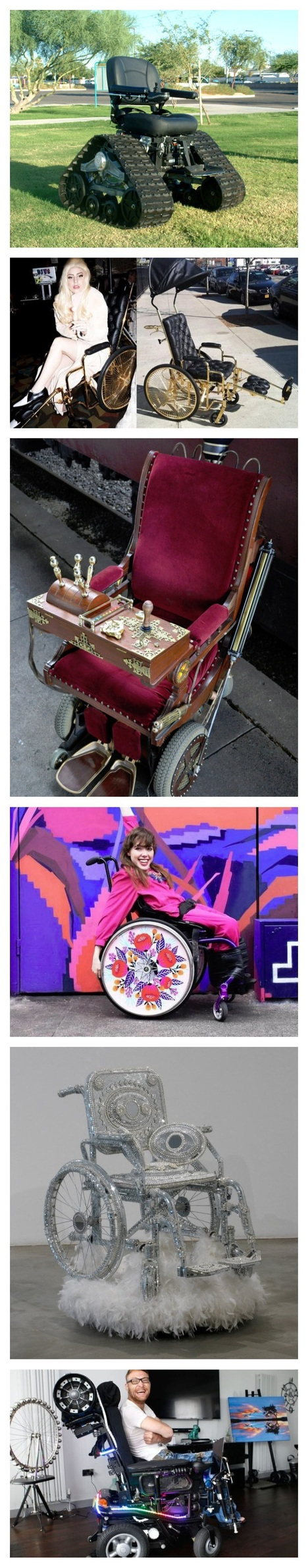 Amazing Pimped Out Wheelchairs